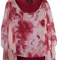 Sweet Pea by Stacy Frati Flutter Anthropologie Camisole Top Red and white Image 0