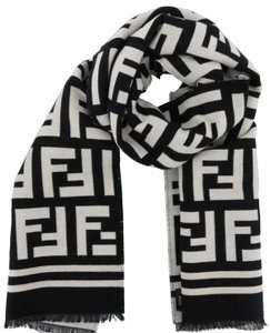 11634438e5d Black Fendi Scarves & Wraps - Up to 70% off at Tradesy