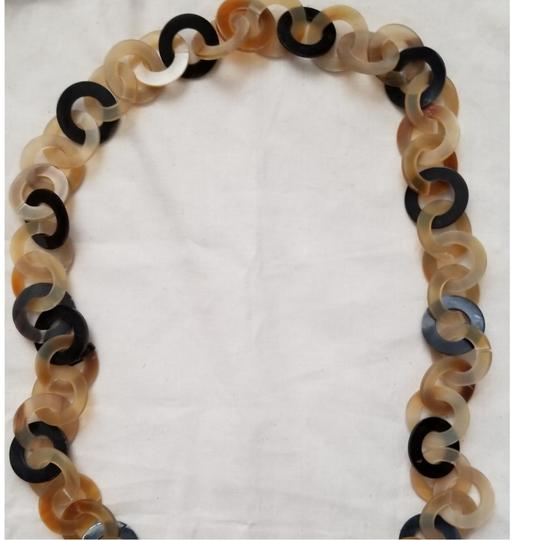 Other Neutral multi circle necklace Image 3