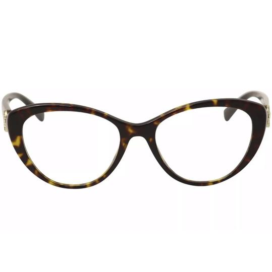 Versace Versace Women's Eyeglasses 3246/B 108 Dark Havana Full Rim Optical Frame Image 1