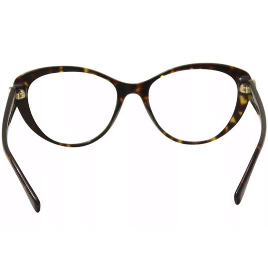 Versace Versace Women's Eyeglasses 3246/B 108 Dark Havana Full Rim Optical Frame Image 3