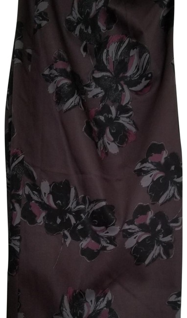 Ann Taylor New With Tags Pencil Flower Skirt Purple Image 4