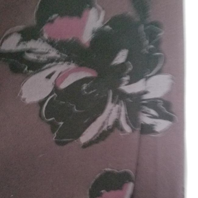 Ann Taylor New With Tags Pencil Flower Skirt Purple Image 6