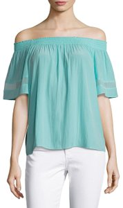 Ramy Brook Top Turquoise