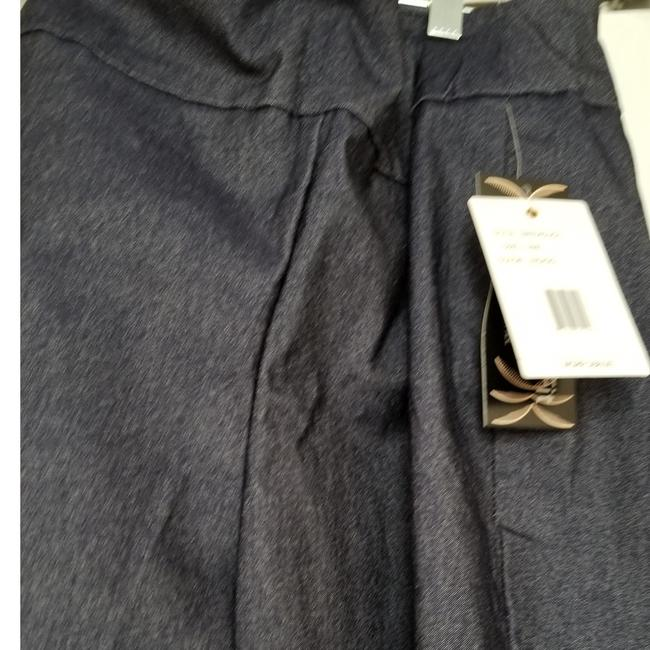 Zac & Rachel New With Tags Indigo Plus-size And Size Straight Pants Blue Image 3