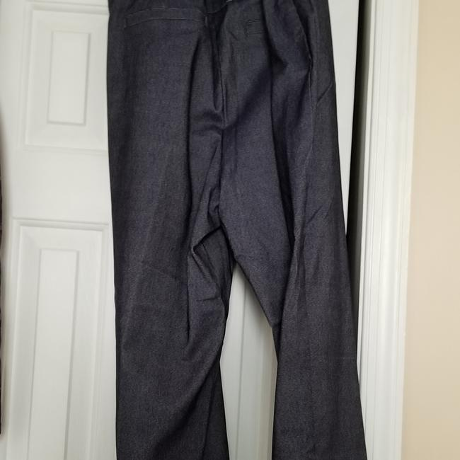 Zac & Rachel New With Tags Indigo Plus-size And Size Straight Pants Blue Image 5