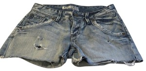 Express Cut Off Shorts Denim