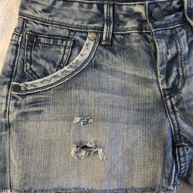 Express Cut Off Shorts Denim Image 2