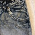 Express Cut Off Shorts Denim Image 3