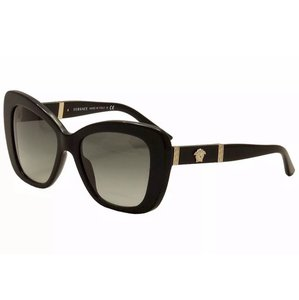 Versace Versace Women's VE4305Q VE/4305/Q GB1/11 Black/Gold Butterfly Sunglasses