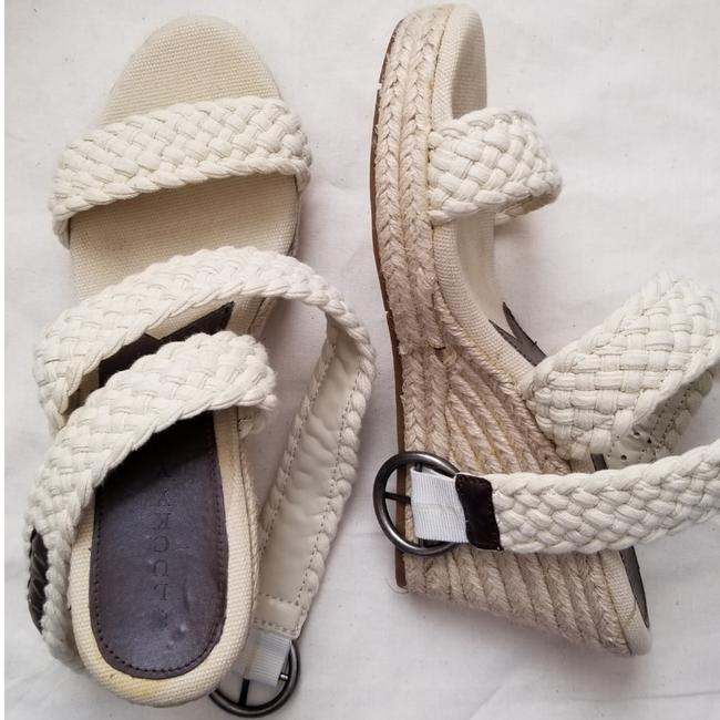 Lucky Brand Cream Braided Espadrilles Wedges Size US 9.5 Regular (M, B) Lucky Brand Cream Braided Espadrilles Wedges Size US 9.5 Regular (M, B) Image 1