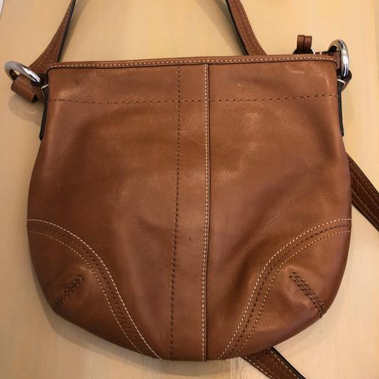 Coach Leather Cross Body Bag Image 1