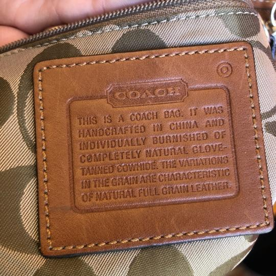 Coach Leather Cross Body Bag Image 3
