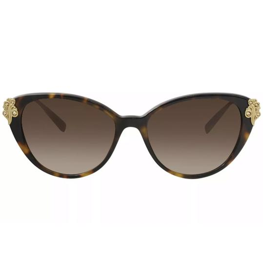 Versace Versace Women's VE4351B VE/4351/B 5267/13 Havana Fashion Cat Eye Sunglasses Image 1