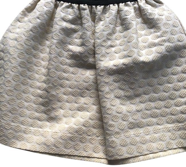 Aqua Mini Skirt Beige Image 0