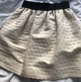 Aqua Mini Skirt Beige Image 1