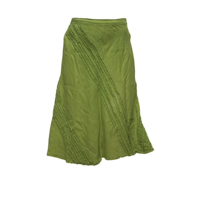 Preload https://img-static.tradesy.com/item/24217856/green-a-line-skirt-size-4-s-27-0-0-650-650.jpg