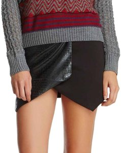 Lucca Couture Mini Skirt Black