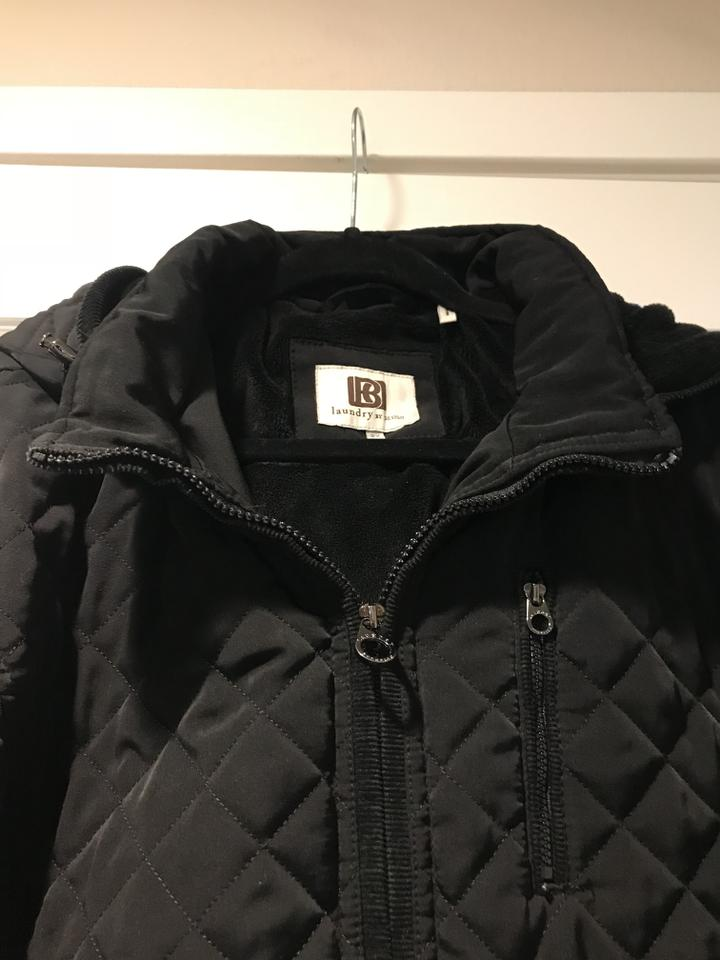 Laundry By Design Black Quilted Coat Size 22 Plus 2x Tradesy