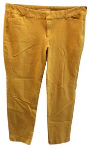Old Navy Straight Pants gold