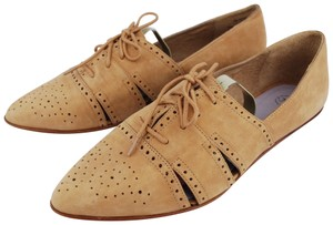 Johnston & Murphy Beige Flats