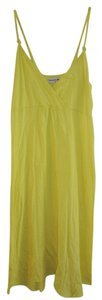 Michael Stars short dress Yellow Beach Cover Pool Swim Suit Up on Tradesy