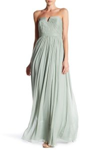 J.Crew Dusty Shale Chiffon Nadia Formal Bridesmaid/Mob Dress Size 8 (M)