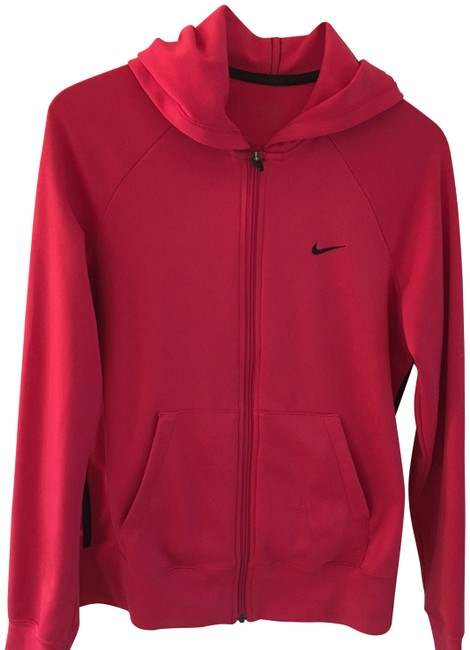 Item - Red Warm Up Activewear Outerwear Size 8 (M)