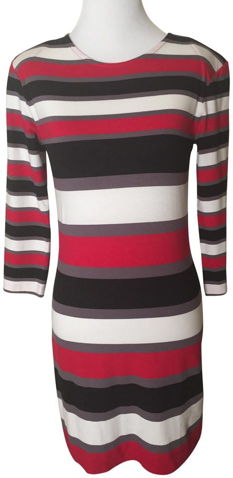 e83dc0a18fa French Connection short dress Red, White, Black Pullover on Tradesy Image 0  ...