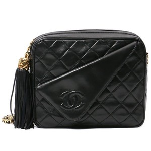 Chanel Vintage Tassel Camera Cross Body Bag