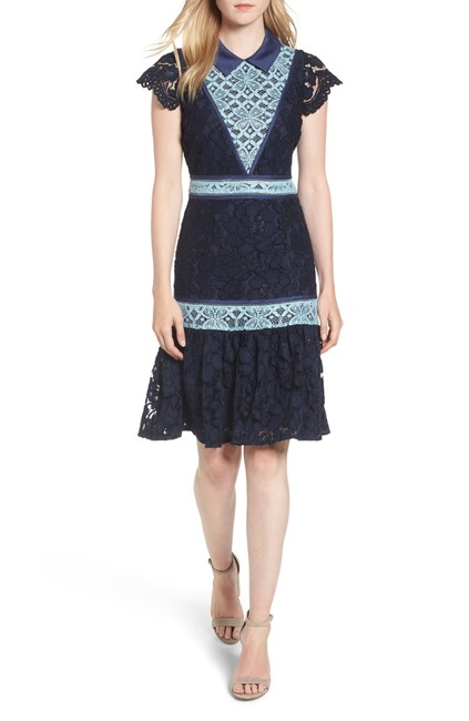 Preload https://img-static.tradesy.com/item/24219930/draper-james-blue-collared-lace-collection-mid-length-cocktail-dress-size-2-xs-0-0-650-650.jpg