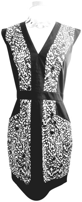 Preload https://img-static.tradesy.com/item/24219942/french-connection-black-and-white-sleeveless-short-casual-dress-size-8-m-0-1-650-650.jpg
