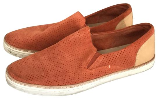 Preload https://img-static.tradesy.com/item/24219948/ugg-australia-orange-suede-slip-on-sneaker-flats-size-us-9-regular-m-b-0-1-540-540.jpg