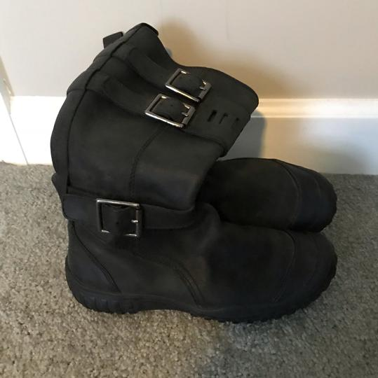 Cole Haan Faded Black Boots