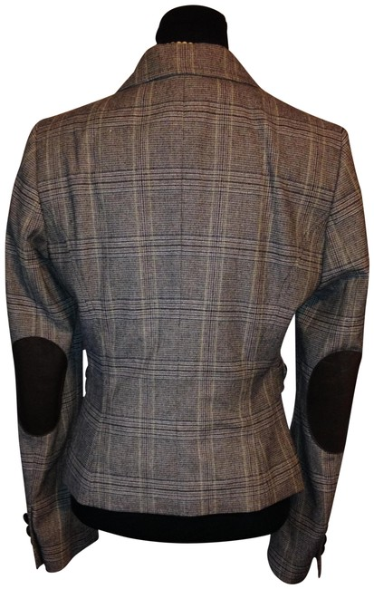 Preload https://img-static.tradesy.com/item/24220006/united-colors-of-benetton-brown-leather-patch-elbow-tweed-wool-blend-stretch-blazer-size-10-m-0-1-650-650.jpg