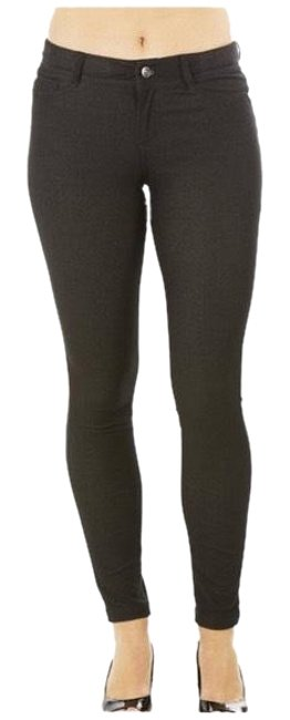 Item - Black Stretch Cotton Blend Leggings Pants Size 14 (L, 34)