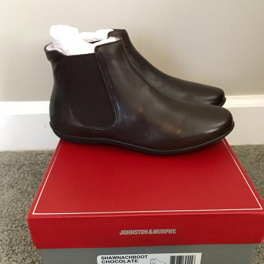 Johnston & Murphy Chelsea Brown Chocolate Boots