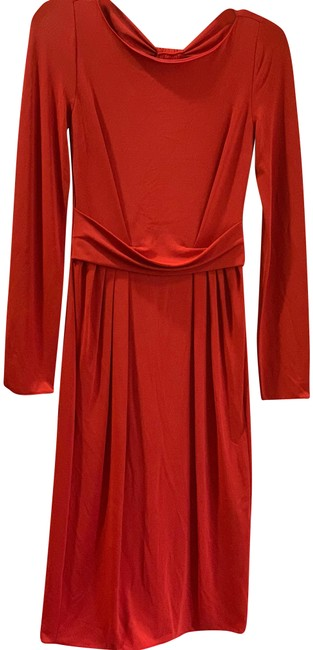 Preload https://img-static.tradesy.com/item/24220022/armani-collezioni-red-mid-length-workoffice-dress-size-2-xs-0-1-650-650.jpg