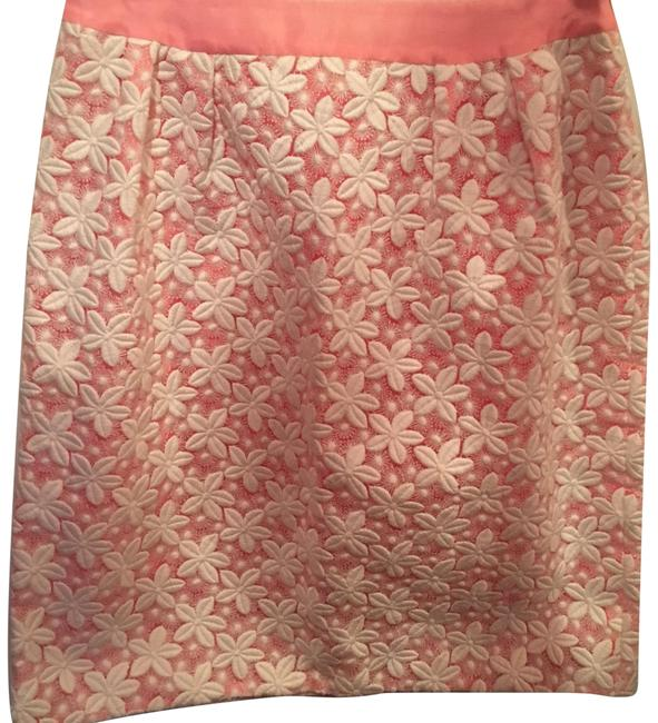Preload https://img-static.tradesy.com/item/24220069/kate-spade-pink-white-and-lace-skirt-size-4-s-27-0-1-650-650.jpg