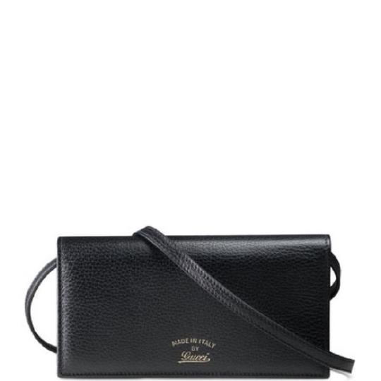 Preload https://img-static.tradesy.com/item/24220090/gucci-swing-leather-wallet-on-the-strap-black-cross-body-bag-0-0-540-540.jpg