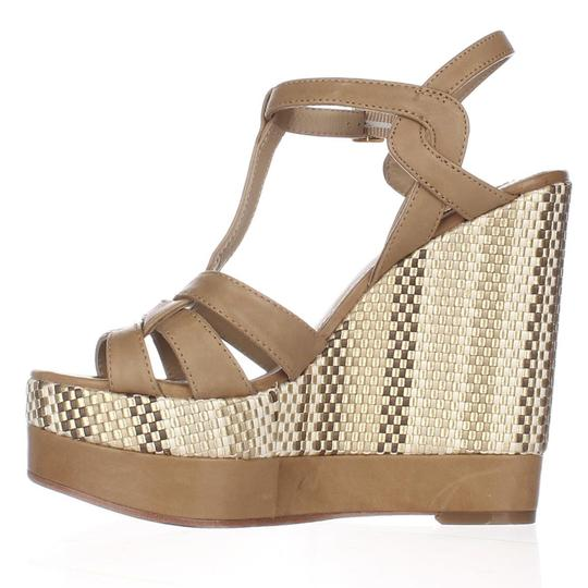 Lauren Ralph Lauren Brown Platforms