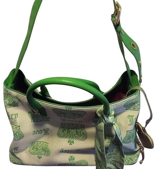 Preload https://img-static.tradesy.com/item/24220119/juicy-couture-white-green-cotton-tote-0-2-540-540.jpg