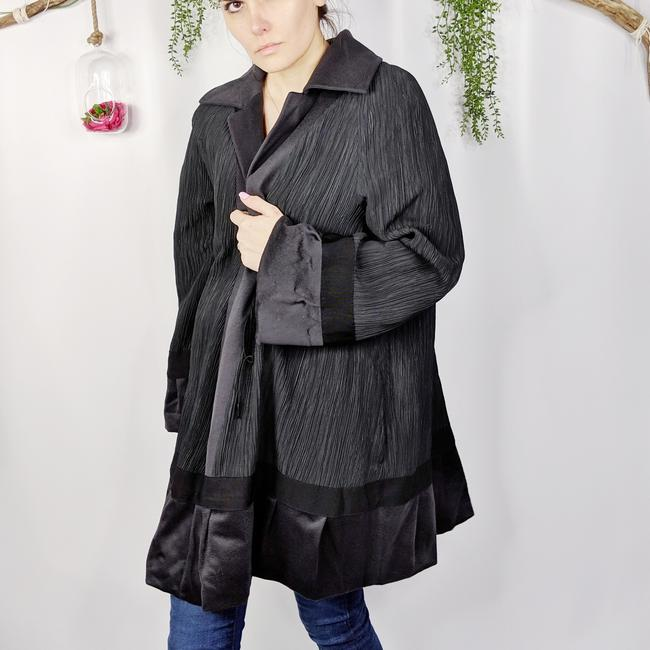 Akris Cashmere Swing Reversible Cape