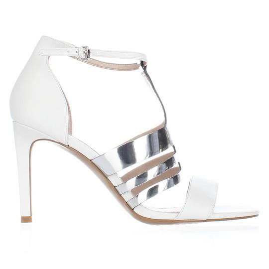 French Connection White Sandals
