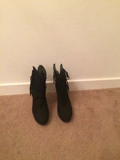 black heel booties Boots