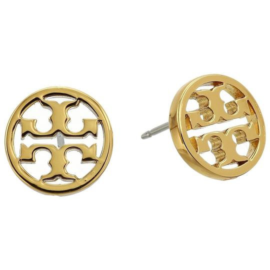 Tory Burch New Tory Burch Small Gold Circle Logo Studs