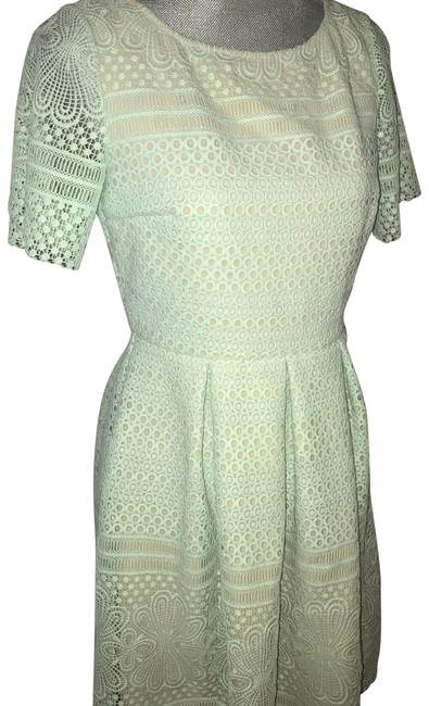 Preload https://img-static.tradesy.com/item/24220243/shoshanna-sea-foam-green-mid-length-cocktail-dress-size-6-s-0-1-650-650.jpg