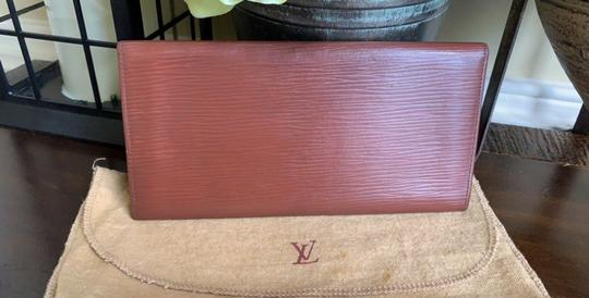 Louis Vuitton Louis Vuitton Vintage Epi Leather Checkbook Holder Wallet Kenyan Fawn