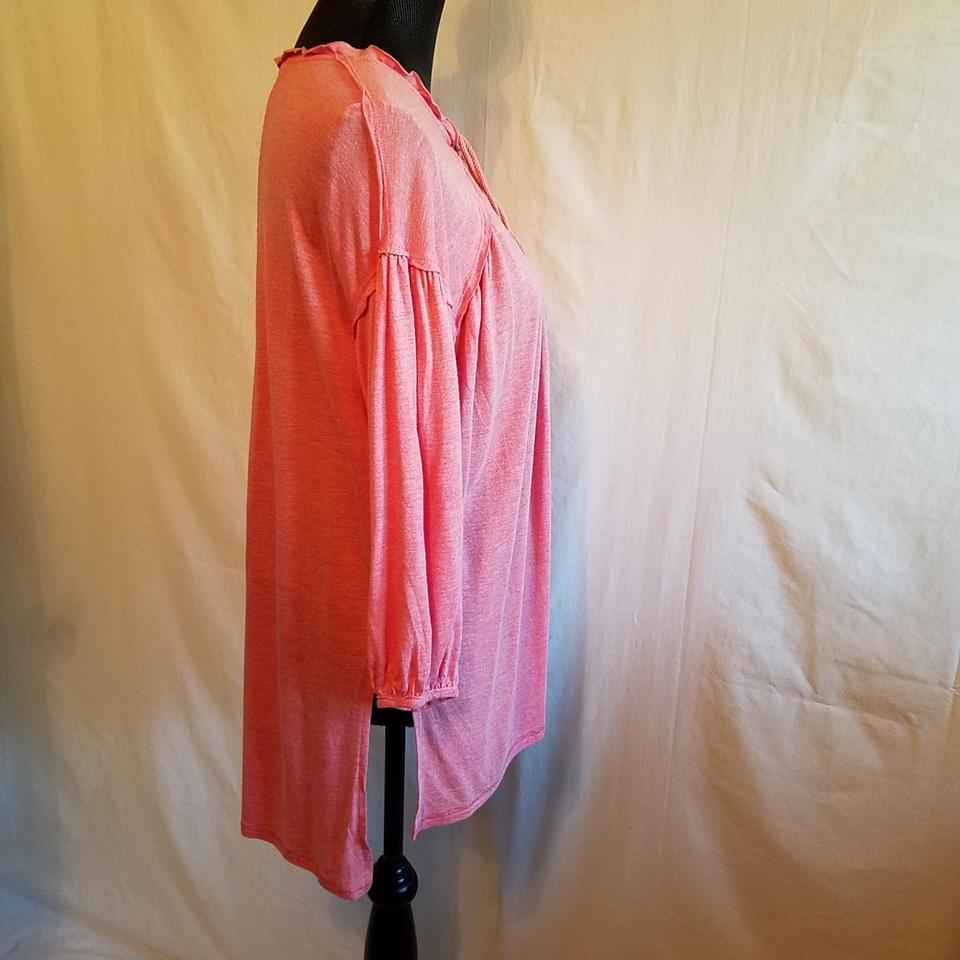 19cc2d1c7cf23 Free People Rose We The Just A Henley In Blouse Size 2 (XS) - Tradesy