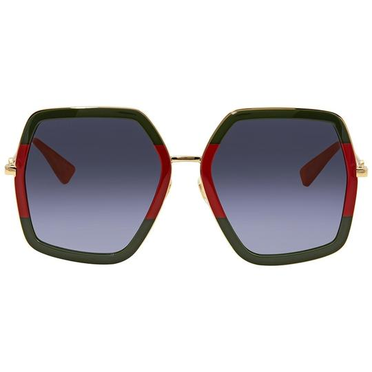 Preload https://img-static.tradesy.com/item/24220292/gucci-redgreen-new-0106s-oversized-sunglasses-0-0-540-540.jpg